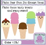 Build Your Own Treat - Ice Cream clipart
