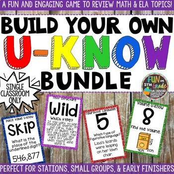 Build Your Own Game Bundle: U-Know