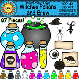 Build Your Own Witches Potions and Brew Clip Art