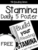 Build Your Reading Stamina Poster