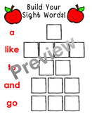 Build Your Sight Words