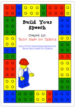 Build Your Speech - Lego Articulation Board Game