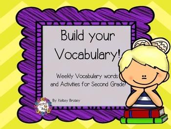 Vocabulary Packet