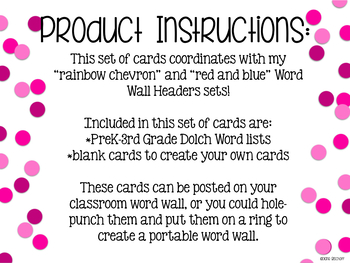 Build Your Word Wall: Dolch Word Cards Bundle (Plain Gray)