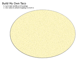 Build-Yourself-Multicultural Meals Craft Activity (taco and fried rice)