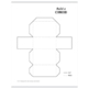 Build a 3D cuboid – foldable geometry shape net
