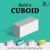 Build a 3D Cuboid – Foldable Geometry Solid Shape Net