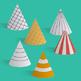 Build a 3D cone – foldable geometry shape net