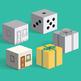 Build a 3D cube – foldable geometry shape net
