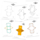 Build a 3D triangular prism – foldable geometry shape net