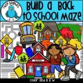 Build a Back to School Maze/Map Clip Art Set