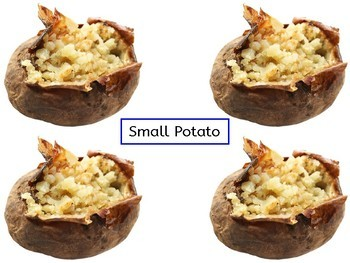 Build a Baked Potato Following Directions