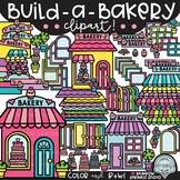 Build-a-Bakery Clipart {bakery clipart}