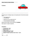 STEM: Build a Balloon Powered Car Challenge