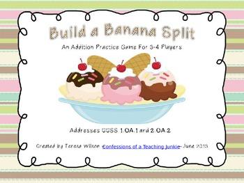 Build a Banana Split Addition Practice Game
