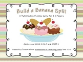 Build a Banana Split Multiplication Practice Game