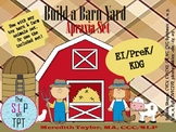 Build a Barn Yard Apraxia Set: Speech Therapy Early Sounds