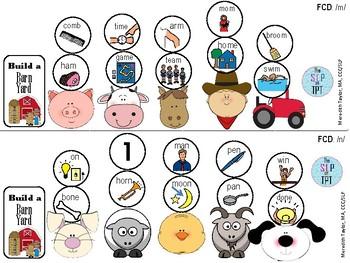 Build a Barn Yard: Phonological Processes Set