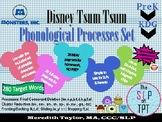 Monsters Inc: Phonological Processes Set