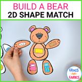 Build a Bear 2D Shape Match