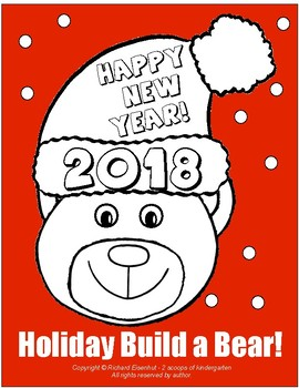 A Build-a-Bear Project with Christmas, Hannukah, Happy New Year & Snowman Theme