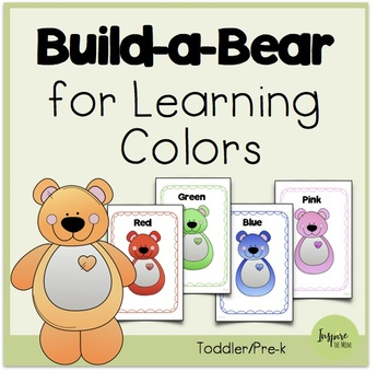 Build-a-Bear for Learning Colors