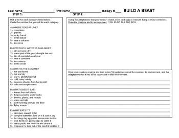 Build a Beast