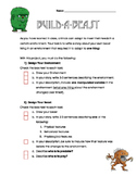 Build-a-Beast: Adaptations Activity