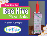 Build a Bee Hive Pencil Holder Activity | Maker Space, Sci