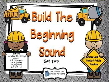 Build a Beginning Sound Set Two