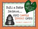 Build a Better Sentence (Creative Writing, Center Activity
