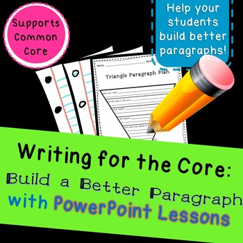Build a Better Paragraph: Write more detailed paragraphs w