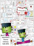 Build a Better Reader! Literacy Sub-Skills Practice (Valentine's Day Theme)