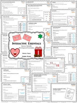 Build a Better Reader! Literacy Sub-Skills Practice (Valentine's Day Theme)