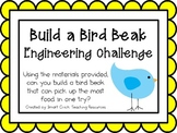 Build a Bird Beak: Engineering Challenge Project ~ Great STEM Activity!