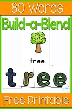 Blend Word Building Cards