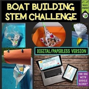 Build a Boat STEM Challenge Mini Bundle - PAPERLESS