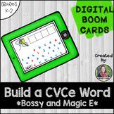 Build a Bossy Magic E Word Digital BOOM Cards