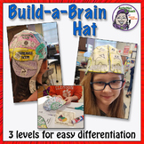 "Build-a-Brain ""Thinking Cap"" Brain HAT - Foldable Creation (Hands-on Activity)"