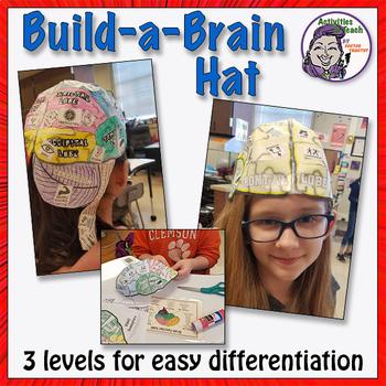 Human Brain: Build-a-Brain Hat Foldable