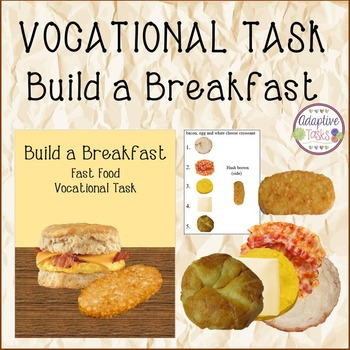 VOCATIONAL TASK Build a Breakfast