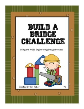 Build a Bridge Challenge (aligns with NGSS K-2-ETS1-1, 1-2 and 1-3)