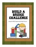 Build a Bridge Challenge (aligns with NGSS K-2-ETS1-1, 1-2