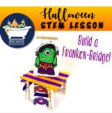 Build a Bridge Halloween - STEAM STEM