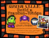 Build a Bridge Halloween - STEAM STEM *Editable Word Document*