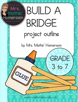 Build a Bridge Project FREEBIE!