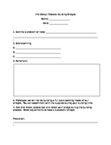 Build a Bridge - The Design Process Lab Activity Worksheet