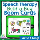 Build a Bug Boom Cards for Speech Therapy
