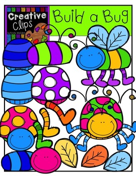 Build a Bug {Creative Clips Digital Clipart}