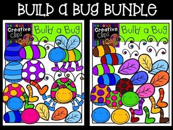 Build a Bug {Creative Clips Digital Clipart}